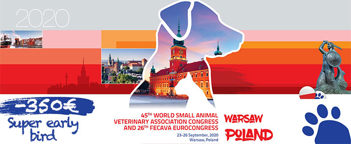 Congres WSAVA 2020 - Super early bird
